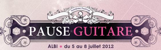 Pause Guitare 2012