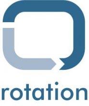 logo rotation web
